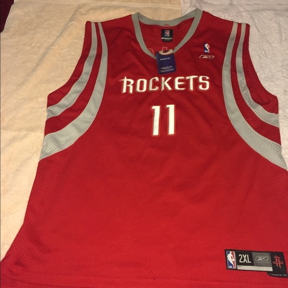official photos 48ad6 5ef01 Houston rockets yao ming jersey harden xxl